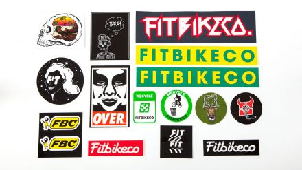 FIT Mixed 15 Sticker Pack